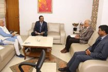 CMD, NHPC meets Hon'ble Chief Minister of Haryana