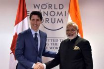 Modi meets Canadian PM, Dutch queen