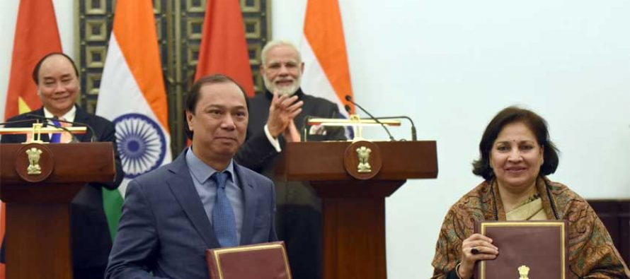 India, Vietnam sign I&B, space cooperation agreements