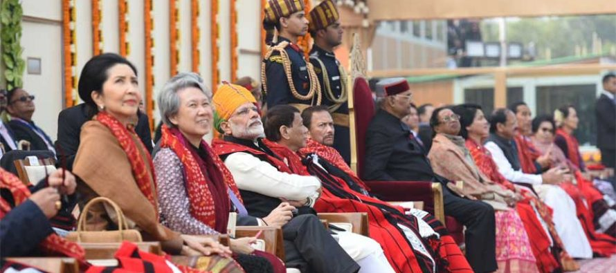 India celebrates 69th R-Day with 10 Asean guests