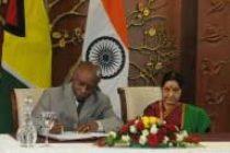 India, Guyana sign three agreements