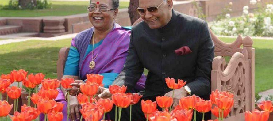 "PRESIDENT OF INDIA TO OPEN RASHTRAPATI BHAVAN'S ANNUAL ""UDYANOTSAV"" ON FEBRUARY 12"