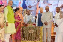 President flags off Gomateshwara festival in Karnataka