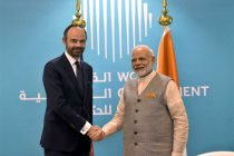 Modi, French PM discuss strengthening strategic partnership