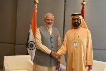 Modi discusses trade, defence ties with UAE PM