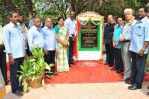 Dr. S.K Acharya, CMD, NLCIL dedicates paver block road at  Auroville Foundation, Pondicherry
