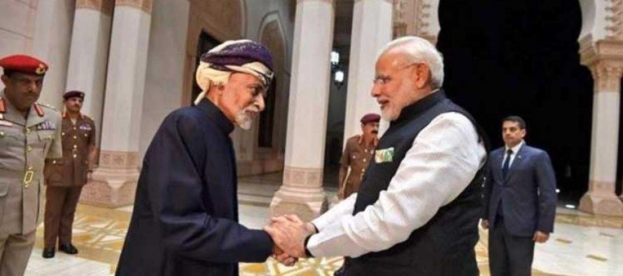 PM Modi condoles death of Oman's Sultan Qaboos