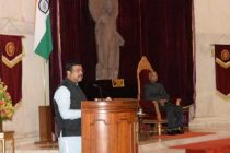 LPG Panchayat organised at Rastrapati Bhawan in the august presence of President of India