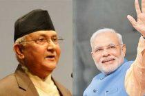 Modi congratulates Nepal's Oli, invites him to India