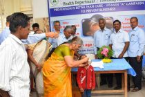 NLC INDIA CONDUCTS INTENSIFIED VITAMIN A CAMPAIGN – FEBRUARY 2018