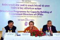 DoPE conducts orientation programme for Govt. Directors of CPSEs in collaboration with PFC