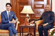 PRIME MINISTER OF CANADA CALLS ON THE PRESIDENT