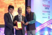 "CMD HUDCO receives ""Technology Sabha Award"""