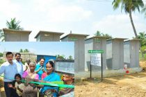 NLCIL provides  New Toilets  to Surrounding Villages to  end  Open Defecation