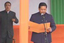 Conrad Sangma takes charge of Meghalaya as CM