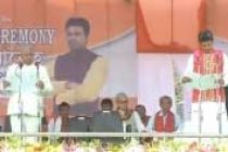 BJP-led government takes office in Tripura