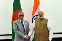 Prime Minister, Shri Narendra Modi meeting the President of Bangladesh, Md. Abdul Hamid,