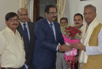 CMD, NHPC meets Hon'ble Chief Minister of Uttarakhand