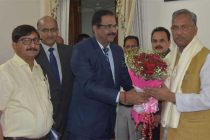 CMD, NHPC meets Hon'ble Chief Minister of Uttarakhand