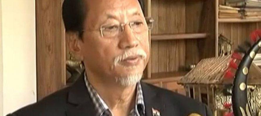 Neiphiu Rio sworn in as Nagaland CM