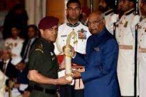 Dhoni among 43 presented Padma awards