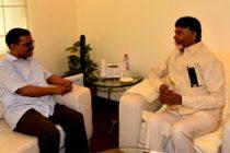 Andhra CM meets Kejriwal