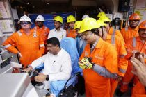 Dharmendra Pradhan Flags Off ONGC's Ambitious KG-DWN-98/2 East Coast Project