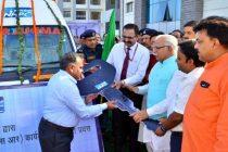 NHPC provided ambulances under CSR Programme