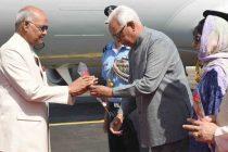 Kovind arrives on two-day visit to J&K