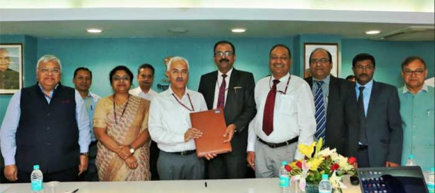 NHPC SIGNS MOU WITH MINISTRY OF POWER FOR THE YEAR 2018-19