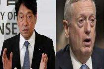 US, Japan defence chiefs hold talks