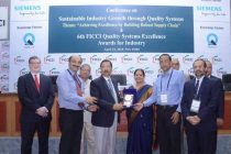 POWERGRID awarded Platinum Prize at the 6th FICCI Quality Systems Excellence Awards