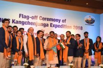 ONGC Mt Kanchenjunga Expedition 2018 flagged off by Dharmendra Pradhan