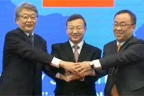 China, Japan, S.Korea call to resist protectionism