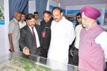 Vice President lays Foundation Stone for WTC in Nauroji Nagar