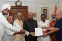 Ministers of 5 states meet President for changes to terms of Finance Commission
