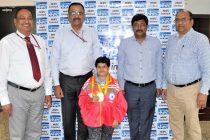 Ms. Arunachalam Nalini wins Gold Medals at International Para Athletic Championship 2018