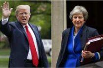 Trump, May talk on trade, Iran, G7 summit
