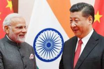 The Prime Minister, Narendra Modi meeting the President of the People's Republic of China, Xi Jinping