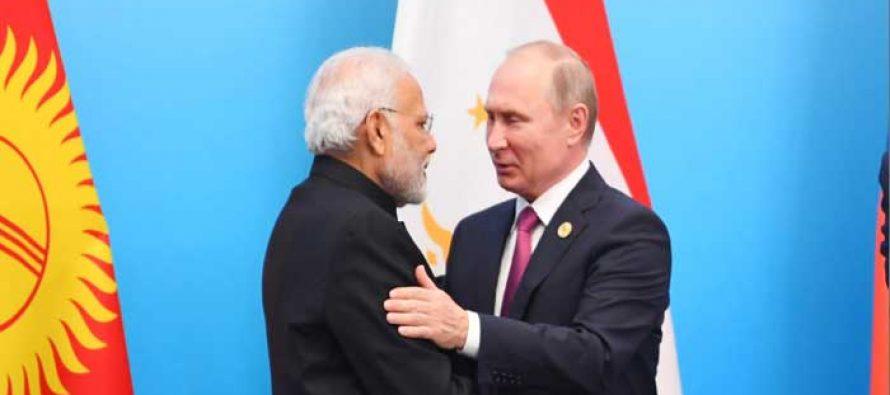 Russia announces highest Order for Modi