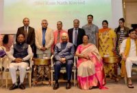 PRESIDENT KOVIND ADDRESSES INDIAN COMMUNITY IN GREECE