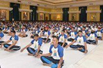 RASHTRAPATI BHAVAN CELEBRATES THE FOURTH INTERNATIONAL YOGA DAY