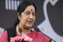 Talks, terror can't go together: Sushma