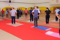International Yoga Day celebrated in MRPL