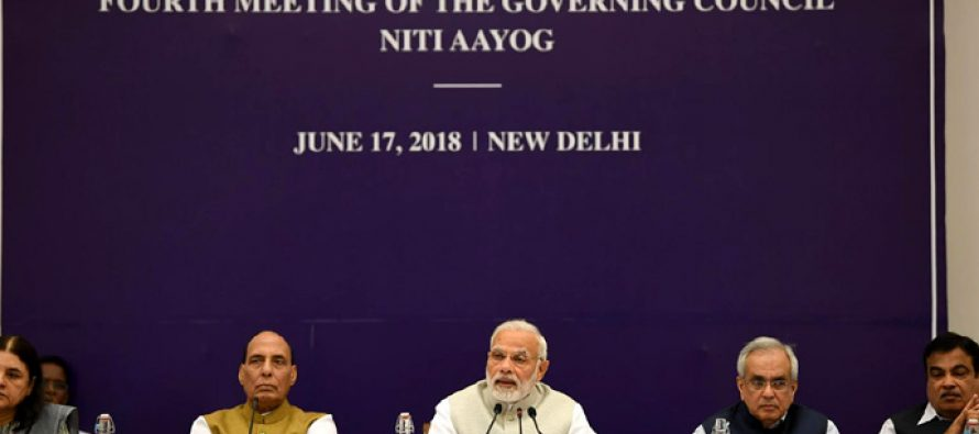 At NITI meet, Modi moots double digit growth, linking MNREGA to agriculture