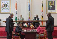 India, Uganda agree to strengthen economic, defence ties