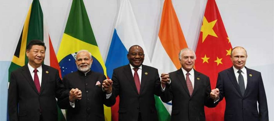 BRICS calls for global trade growth, stronger multilateralism