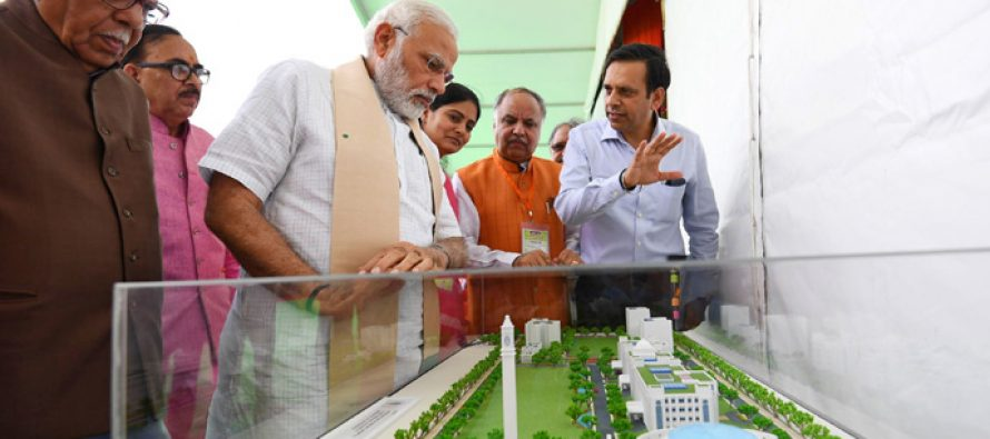 PM Modi inaugurates Bansagar canal project in Mirzapur