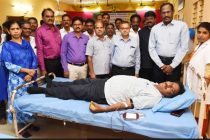 Director (HR) inaugurates Mega Blood Donation Camp organized by the NLC ST Federation