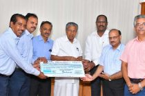 NLC India Ltd. shares Kerala's grief – Contributes  Rs 5.4 crores to Kerala for flood relief works